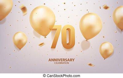 επέτειος , 70th, εορτασμόs
