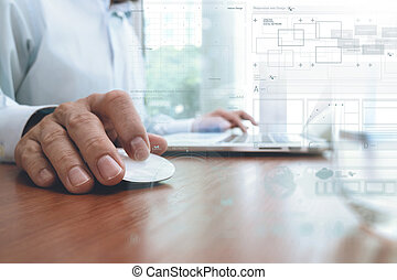 επίπεδο , γενική ιδέα , επιχείρηση , εργαζόμενος , μοντέρνος , αποτέλεσμα , χέρι , ψηφιακός , επιχειρηματίας , στρατηγική , τεχνολογία