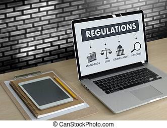 επαγγελματίες , γενική ιδέα , εργαζόμενος , δικάζω , υποχωρητικότητα , κανονισμοί , επιχειρηματίας , νόμοs