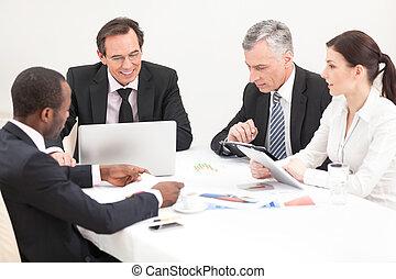 επαγγελματική συνάντηση