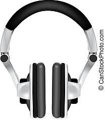 επαγγελματικός , ακουστικά , εικόνα