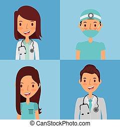 επαγγελματικός , ιατρικός , σχεδιάζω , άνθρωποι