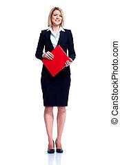 επαγγελματικός , woman., επιχείρηση