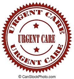 επείγων , care-stamp