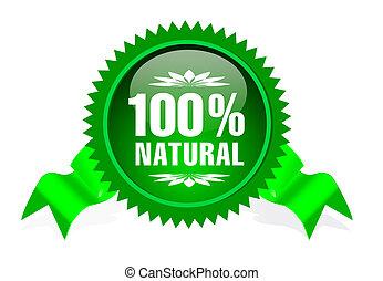 επιγραφή , για , φυσικός , προϊόντα