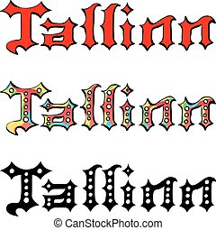 επιγραφή , γραμμένος , μικροβιοφορέας , tallinn , χέρι