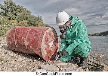 επιθεωρητής , ρύπανση
