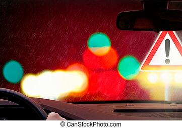 επικίνδυνος , οδήγηση , προσοχή , -