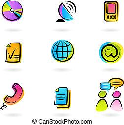 επικοινωνία , απεικόνιση