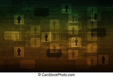 επικοινωνία , τεχνολογία