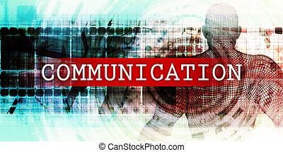 επικοινωνία , τομέας