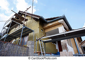 επισκευάζω , δομή , αγροτικός , ή , σπίτι