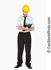 επιστάτης , δικός του , βλέπω , νέος , clipboard ,...