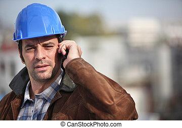 επιστάτης , δικός του , τηλέφωνο , κινητός , λόγια , δομή