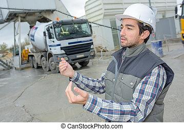 επιστάτης , χορήγηση , εργάτης , δουλευτής , οδηγός , δομή , οδηγίεs