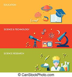επιστήμη , σημαία , έρευνα
