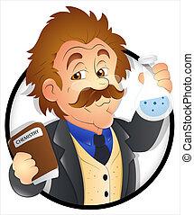 επιστήμονας , γελοιογραφία