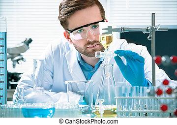 επιστήμονας , εργαζόμενος