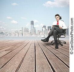 επιτυχής , επιχειρηματίας
