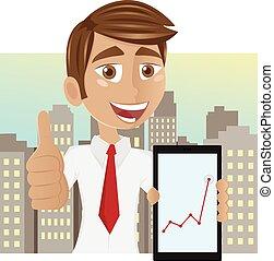 επιτυχής , επιχειρηματίας , νέος