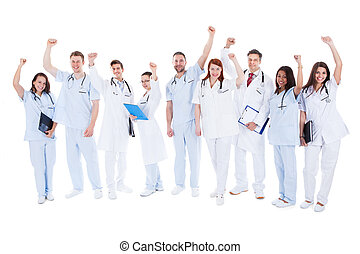 επιτυχής , ιατρικός εργάζομαι αρμονικά με , ακάθιστος , ενθαρρυντικός