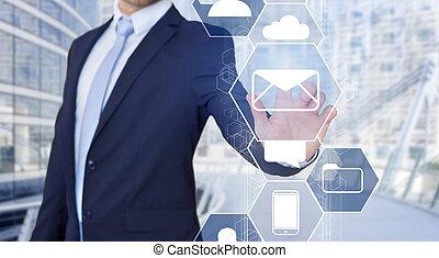 επιχείρηση , αφορών , επεμβαίνω , επιχειρηματίας , τεχνολογία , email , εικόνα