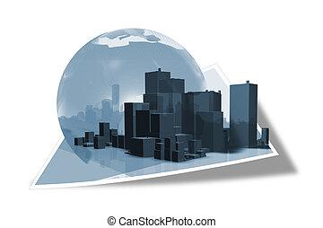 επιχείρηση , κτίριο