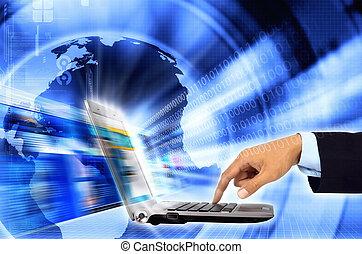 επιχείρηση , internet