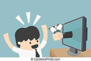 επιχείρηση , online