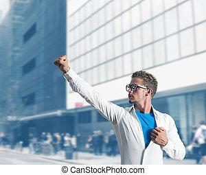 επιχειρηματίας , ανυπέρβλητος ήρωας