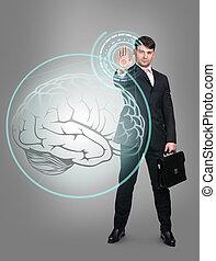 επιχειρηματίας , γενική ιδέα , τεχνολογία