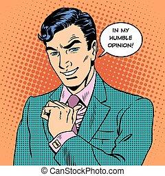 επιχειρηματίας , γνώμη , ταπεινός , άντραs , ωραία