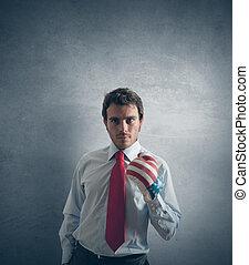 επιχειρηματίας , γρήγορος αναφορικά σε αγώνας