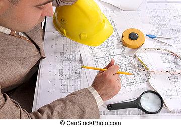 επιχειρηματίας , διάγραμμα , αρχιτεκτονικός