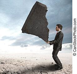 επιχειρηματίας , δυσκολίες , αμφισβητώ