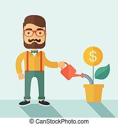 επιχειρηματίας , επενδυτής