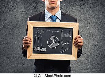 επιχειρηματίας , κορνίζα