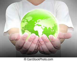 επιχειρηματίας , κράτημα , αγίνωτος γη