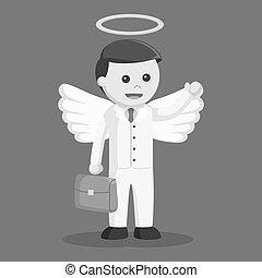 επιχειρηματίας , χαρτοφύλακας , άγγελος
