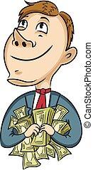 επιχειρηματίας , χρήματα
