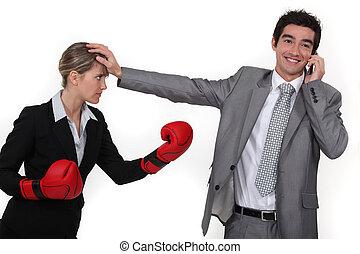 επιχειρηματίαs γυναίκα , δύσκολος , compete.