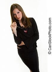 επιχειρηματίαs γυναίκα , ελκυστικός