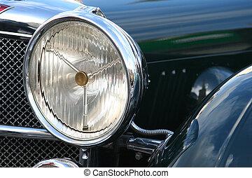 εποχή του τρύγου άμαξα αυτοκίνητο , λεπτομέρεια