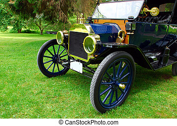 εποχή του τρύγου άμαξα αυτοκίνητο