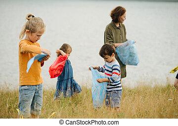 επόμενος , ποτάμι , σκουπίδια , μικρόκοσμος , μητέρα , λιβάδι , περισυλλογή , αυτήν