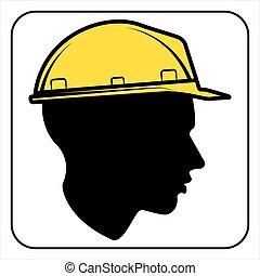 εργάτης , δομή , - , θέση , σήμα