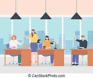 εργαζόμενος , εργαζόμενος , γραφείο , laptop , coworking, ηλεκτρονικός υπολογιστής