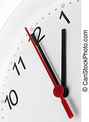 εργαζόμενος , ρολόι , εκδήλωση , ζεσεεδ , σπάζω , δεύτερο πρόγευμα , φόντο , ώρα , άσπρο