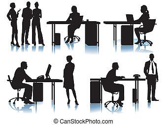 εργαζόμενος , businessmen