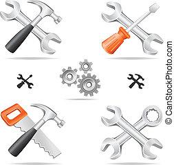 εργαλεία , θέτω , εικόνα